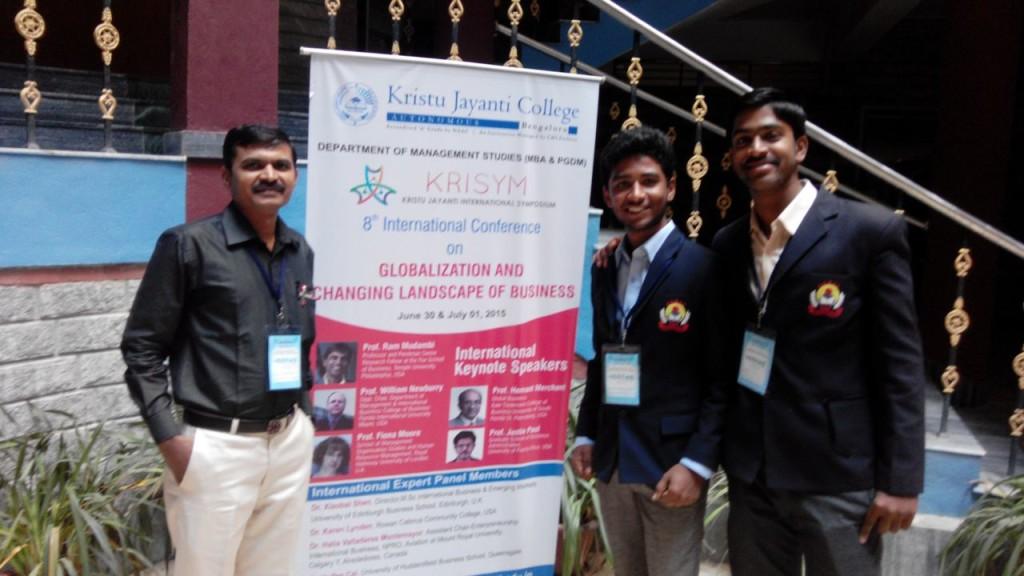 Kristy jayanti college Bangalore