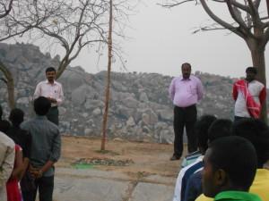 NSS Camp at Aadima (Teralli)Kolar