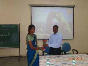 Guest Lecture By Pachayappan.R