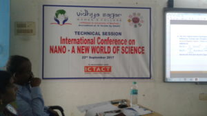 International Conference at Vidya Sagar Womens CollegeChengalpattu-Chennai